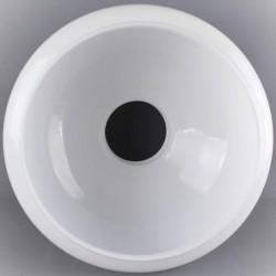 globe-opaline-blanche-collerette-17-5-cm-tres-bon-etat