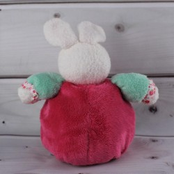 kaloo-doudou-lapin-boule-liberty-petite-fleur-framboise