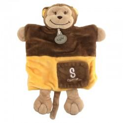 baby-nat-doudou-marionnette-singe-jaune-marron