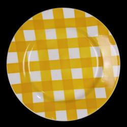 Assiette Plate Faïence de Sarreguemines