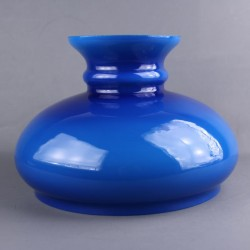 abat-jour-globe-verre-opaline-bleu-cobalt