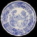 Assiette Villeroy et Bosh Strasbourg Bleu et Blanc