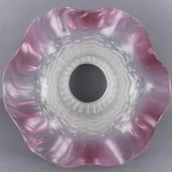 abat-jour-en-verre-forme-tulipe-volant-rose-vintage