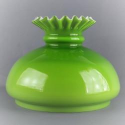 globe-opaline-vert-collerette-17-6-cm