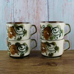 4-tasses-céramique-argenteuil-boch-la-louvière