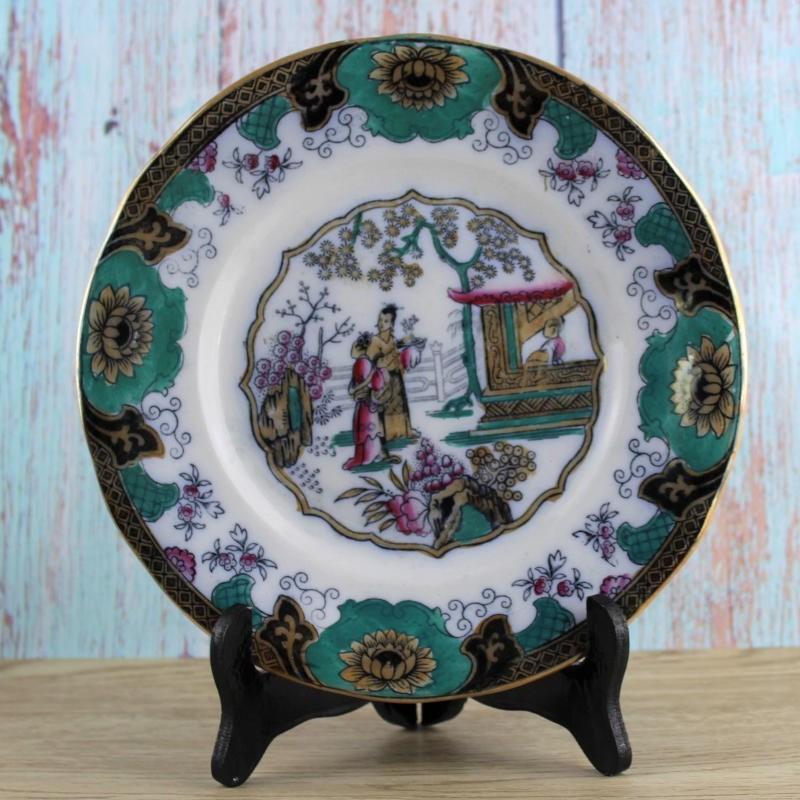 assiette-ceramique-chinoise-art-asiatique-moyen-orient