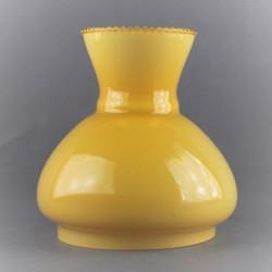 abat-jour-opaline-jaune-d-or-11-cm