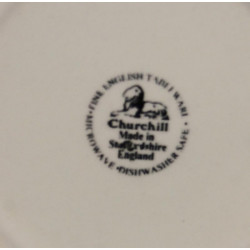 Assiette A Dessert Staffordshire Churchill