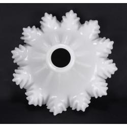 Abat-jour  Blanc Opaline Pour Suspension