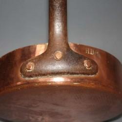Antik-französisch-Dehillerin-Kupfer-Pfanne Pfanne