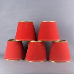 ancien-abat-jour-a-pince-en-tissu-pour-lustre-ou-lampe-lot-de-5