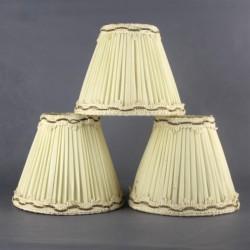 abat-jour-tissu-plissé-ivoire-années-70-