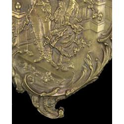 Vide Poche Laiton Style Louis XV