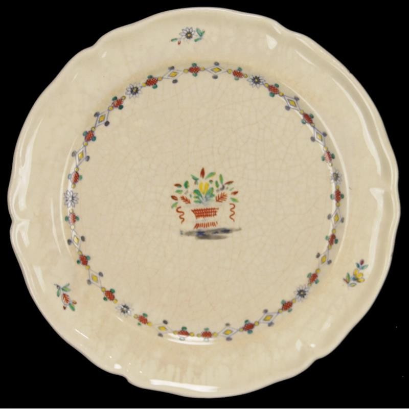 Assiette Porcelaine Cristofle