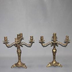 antique-brass-candelabra-candlesticks