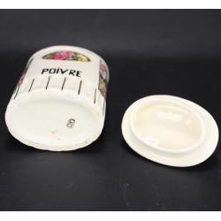 Pot à Epices En Céramique Poivre