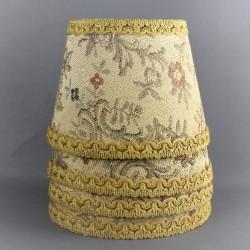 lot-de-4-abat-jour-en-tissu-tapisserie-jacquard-vintage-