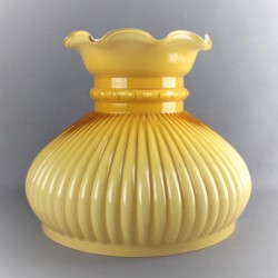 globe-opaline-jaune-d-or-godronné,volant-24-cm-diametre-base