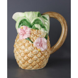Pichet Ananas en Barbotine