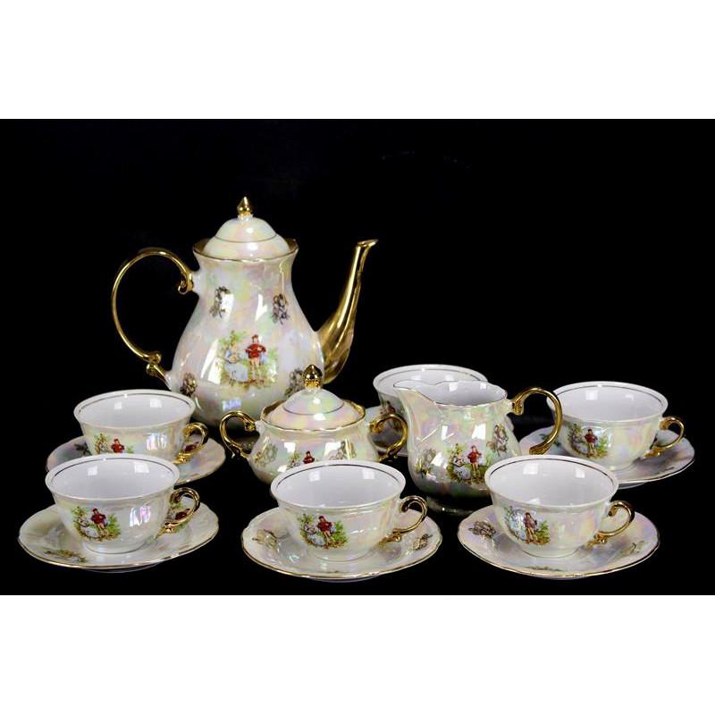 Service à Café ou Thé Titov Veles Jugo Porcelan