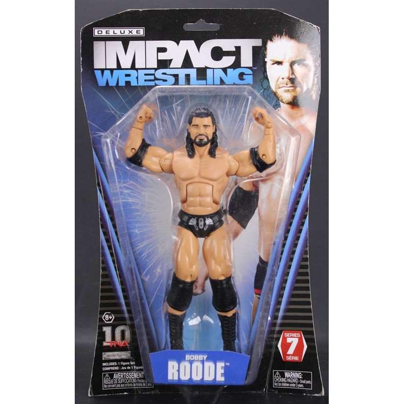 Deluxe Impact 7 BOBBY ROODE Wrestling  Figurine