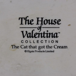 Statuette Chat The House Of Valentina Colllection