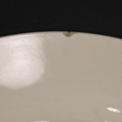 Assiette Plate Sarreguemines, Rustique
