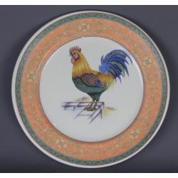 Assiette décorative Coq