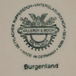 Soucoupe Burgenland Villeroy et Boch