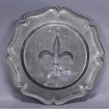 Abat-jour verre teinté diamètre Ø 19 cm