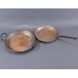 Ancienne dînette en cuivre