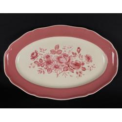 3 bols porcelaine de Chauvigny décor floral