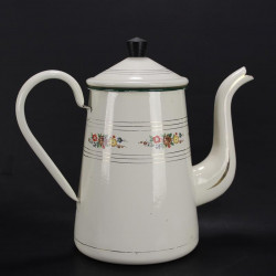 cafetiere-emaillee-decor-floral-ancienne