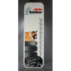 Kleber-thermomètre-publicitaire-tole-emaillée