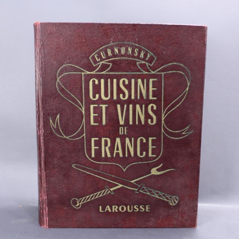 Cuisine Des Vins De France Larousse