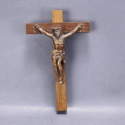 ancien-crucifix-pendentif-bois-et-metal