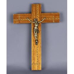 crucifix-bois-laiton