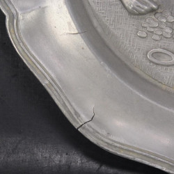 Gien Chambord assiette plate x 4