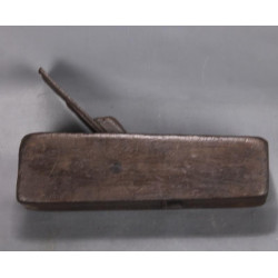 Ancien rabot de Menuisier Ebeniste 21 cm