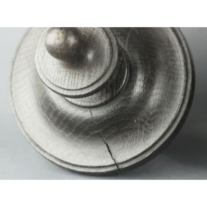 plat en cuivre tam ancien de forme ovale avec anses en fer forg. Black Bedroom Furniture Sets. Home Design Ideas
