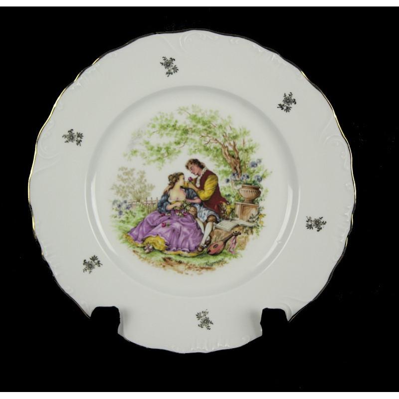 Assiette Porcelaine Limoges Fragonnard