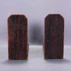 Console étagère d'angle bois