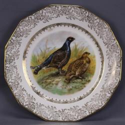 porcelaine-de-limoges-assiette-decorative