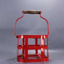 casier-Porte-bouteille-panier-en-métal