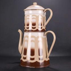 仿古法國搪瓷咖啡壺