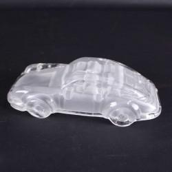 Porsche-911-presse-papier-en-cristal