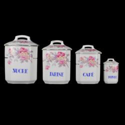 série-anciens-pots-condiments-épices-céramique-vintage