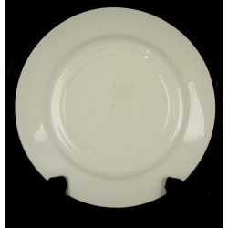 Assiette Plate HBCM Porcelaine