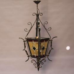 Lanterne-art-déco-en-fer-forgé-ancienne