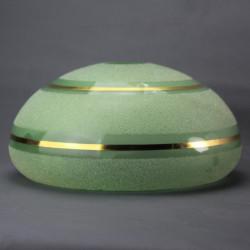 coupelle-vert-frises-dorees-pour-lustre